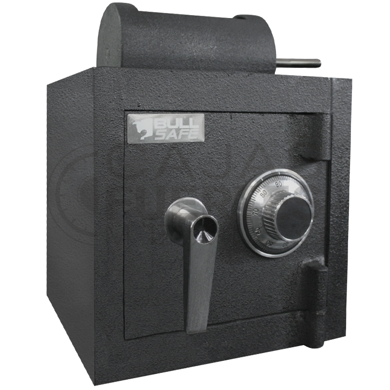 Caja Fuerte Buzón Rotativo -CB30 - Medidas exteriores: 30 cm x 30 cm x 30 cm