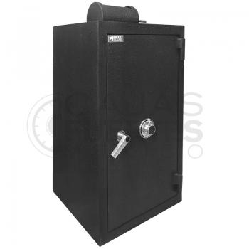 Caja Fuerte Buzón Rotativo CB-105 - Medidas exteriores: 105 cm x 57 cm x 57 cm