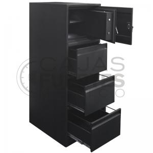 Archivero con caja fuerte - 3 Gavetas