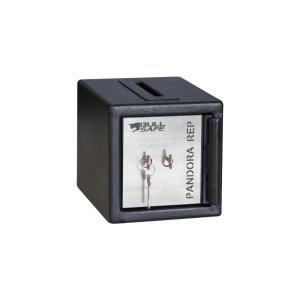 Caja Fuerte para Unidades de Reparto con Ranura CRR-I Medidas exteriores: 19 cm x 19 cm x 24 cm