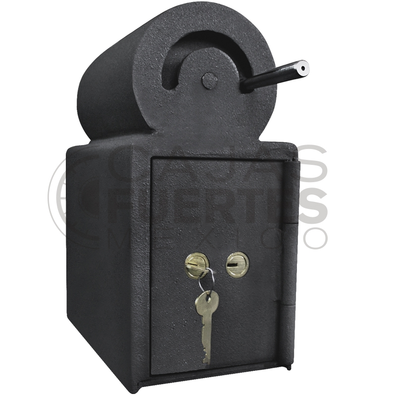 Caja Fuerte para Unidades de Reparto con Tómbola CRB-I Medidas exteriores: 19 cm x 19 cm x 24 cm