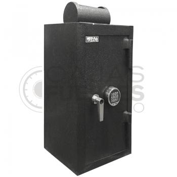Caja Fuerte Buzón Rotativo CB-80 - Medidas exteriores: 80 cm x 47 cm x 47 cm