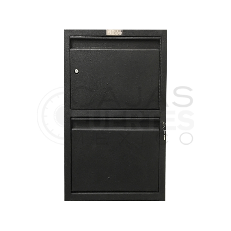 Archivero con caja fuerte - 1 gaveta + 1 caja
