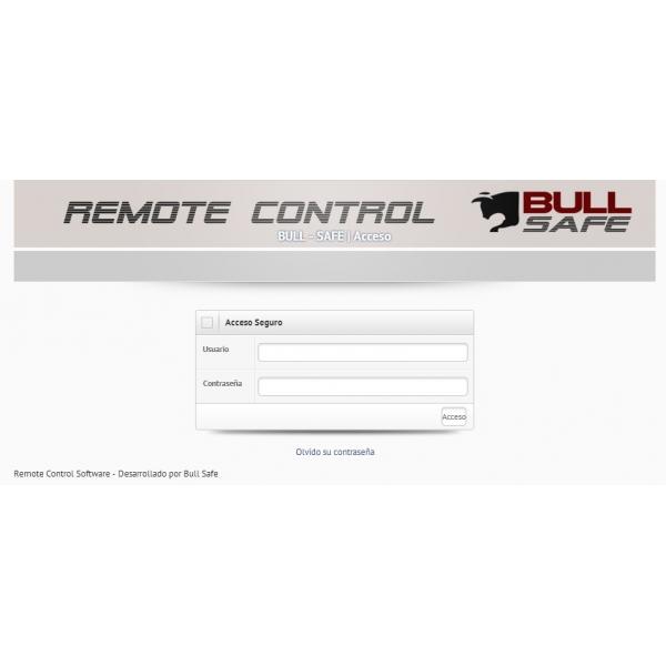 Sistema IP de Apertura Remota por Internet marca Bull-Safe